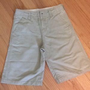 Oshkosh khaki twill shorts
